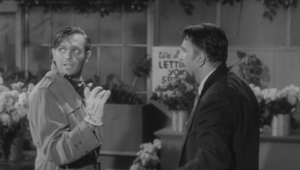 The Little Shop of Horrors - Screenwriter Charles B. Griffith in a cameo role as Kloy Haddock, a robber.