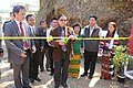 The MLA Lunglei West Constituency, Dr. R. Lalthangliana inaugurating the Bharat Nirman Public Information Campaign, organised by Press Information Bureau Aizawl at Buarpui, in Lunglei Dist, Mizoram on February 21, 2013.jpg