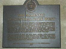 The Majestic 115 Central Park West New York