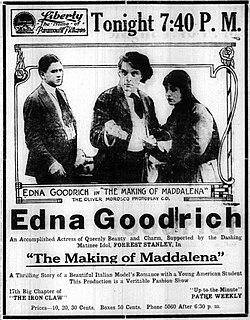 <i>The Making of Maddalena</i> 1916 film by Frank Lloyd