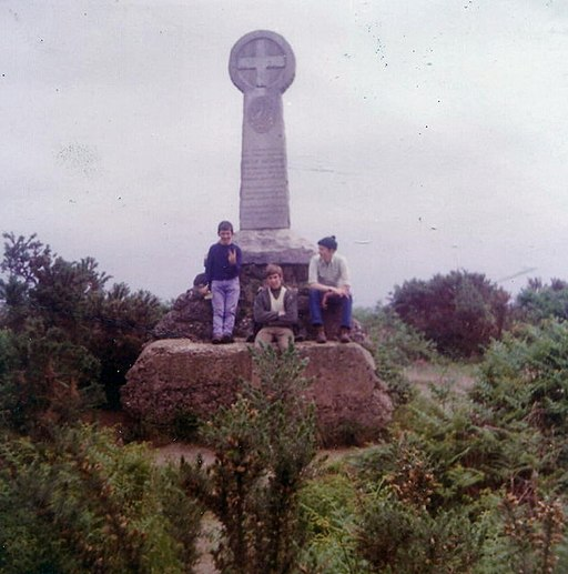 The Monument, Chobham Common, 1972 - geograph.org.uk - 345344