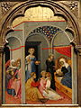 The Nativity of the Virgin by Andrea di Bartolo, c. 1400, tempera on panel - National Gallery of Art, Washington - DSC00162.JPG