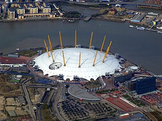 Celebration Day (film) - The O2 is the United Kingdom's second-largest arena