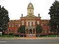 The Old Courthouse sits center stage in the county seat of Monroe.JPG