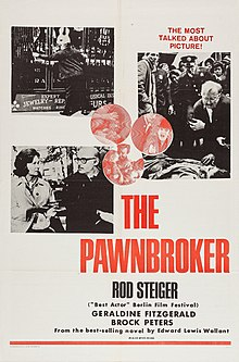 The Pawnbroker (1964 film poster - US Military distribution).jpg