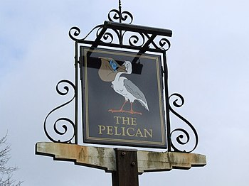 English: The Pelican, Tacolneston Public House