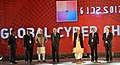 The Prime Minister, Shri Narendra Modi at the 5th Global Conference on Cyber Space (GCCS2017), at Aerocity, in New Delhi.jpg