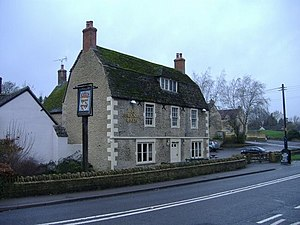 Corston, Wiltshire - Image: The Radnor Arms geograph.org.uk 308194