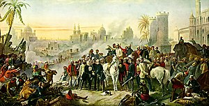 Siege of Lucknow - Image: The Relief of Lucknow