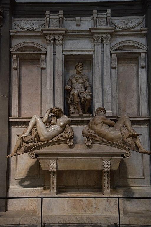 The Sagrestia Nuova, Tombadi Giuliano deMedici, Sagrestia Nuova, BasilicadiSan Lorenzo, Firenze