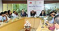 The Secretary (Health and Family Welfare), Shri C.K. Mishra addressing a press conference for the Seventh Session of Conference of Parties (COP 7) to the WHO Framework Convention on Tobacco Control (FCTC).jpg