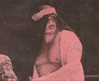Ed Farhat - The Shiek in 1972