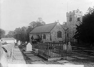 The church, Llanrhaeadr-yng-Nghinmeirch