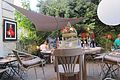 The garden of restaurant Chaverdille at Caveirac - panoramio.jpg