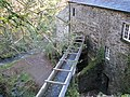 The leat feeding the watermill at Cotehele - geograph.org.uk - 1616260.jpg