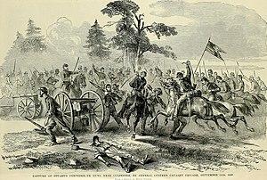 Battle of Culpeper Court House - Custer captures artillery