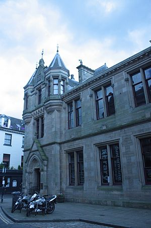 Carnegie library - The world's first Carnegie library, in Dunfermline