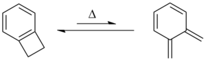 Benzocyclobutene - Thermal generation of o-xylylene from benzocyclobutene
