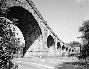 Patapsco Valley State Park - The Thomas Viaduct, a signature monument of Patapsco Valley State Park