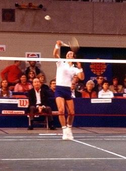 Thomas Kihlström ved Canadian Open år 1977.