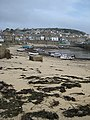 Tide going out, Mousehole harbour - geograph.org.uk - 778028.jpg