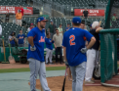 Tim Tebow, Gavin Cecchini, batting practice 2.png