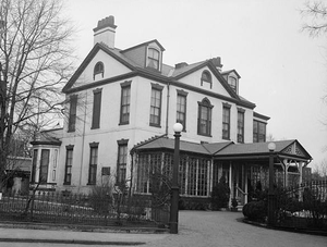 Tingey House - Tingey House pictured in 1936