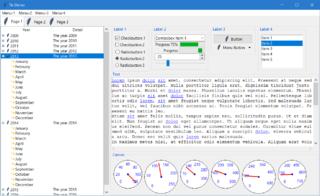 Tk (software) GUI toolkit or framework