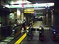 Tochomae stn ticket gates - October 29 2017.jpg