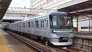 Tokyo Metro 13000 series - Set 13104 on the Tobu Skytree Line in September 2017