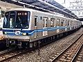 Tokyo Metro Series 05 05-124F in Nishi-Funabashi Station 01.jpg