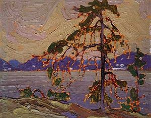 The Jack Pine - Image: Tom Thomson Sketch for 'The Jack Pine' 1916