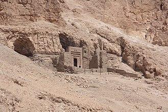 Senenmut - TT 353 of Sen-en-Mut (Senenmut tomb) - a hypogeum built by the order of Sen-en-Mut, 97.36m long and 41.93m deep