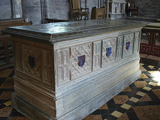 Edmund Tudor, 1st Earl of Richmond - Tomb of Edmund Tudor, St David's Cathedral