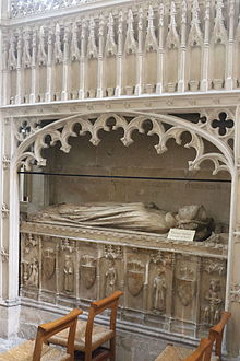 Tomb of Thomas Boleyn in Wells Cathedral.JPG