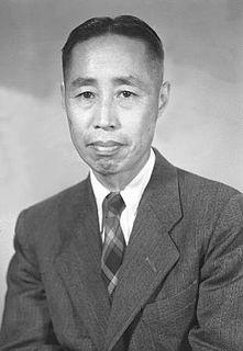 Tong Dizhou Chinese biologist