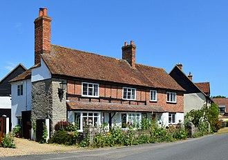 Haddenham, Buckinghamshire - Top Barn, a house in the village