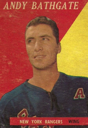 Andy Bathgate - Image: Topps 1957 Andy Bathgate