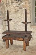 Torchio per cicciolata (tòrc) - Musei del cibo - salame - 051.tif