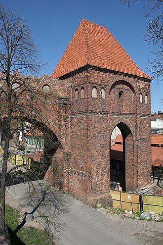 Toruń Castle - The sewage tower of the Toruń Castle