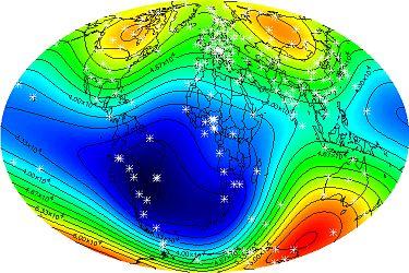 [RISQUE NATUREL] Perturbation du champ magnétique 375px-Total_Magnetic_Field_for_2000