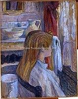 Toulouse-Lautrec - FEMME A SA FENETRE, 1893, MTL.160.jpg
