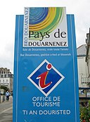 Tourism office Douarnenez sign