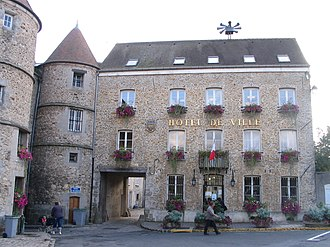 Tournan-en-Brie - The town hall of Tournan-en-Brie