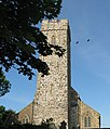 Tower of St Peter and St Cewydd church, Steynton - geograph.org.uk - 854686.jpg