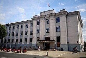 Jelgava - Town Hall of Jelgava, Latvia