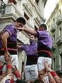 Traditional castellers in uniform.jpg
