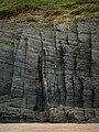 Traeth y Mwnt, cliffs north of beach - geograph.org.uk - 545751.jpg