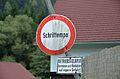Traffic sign Schrittempo, Koglhof.jpg