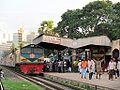 Train at Tejgaon Railway Station.JPG